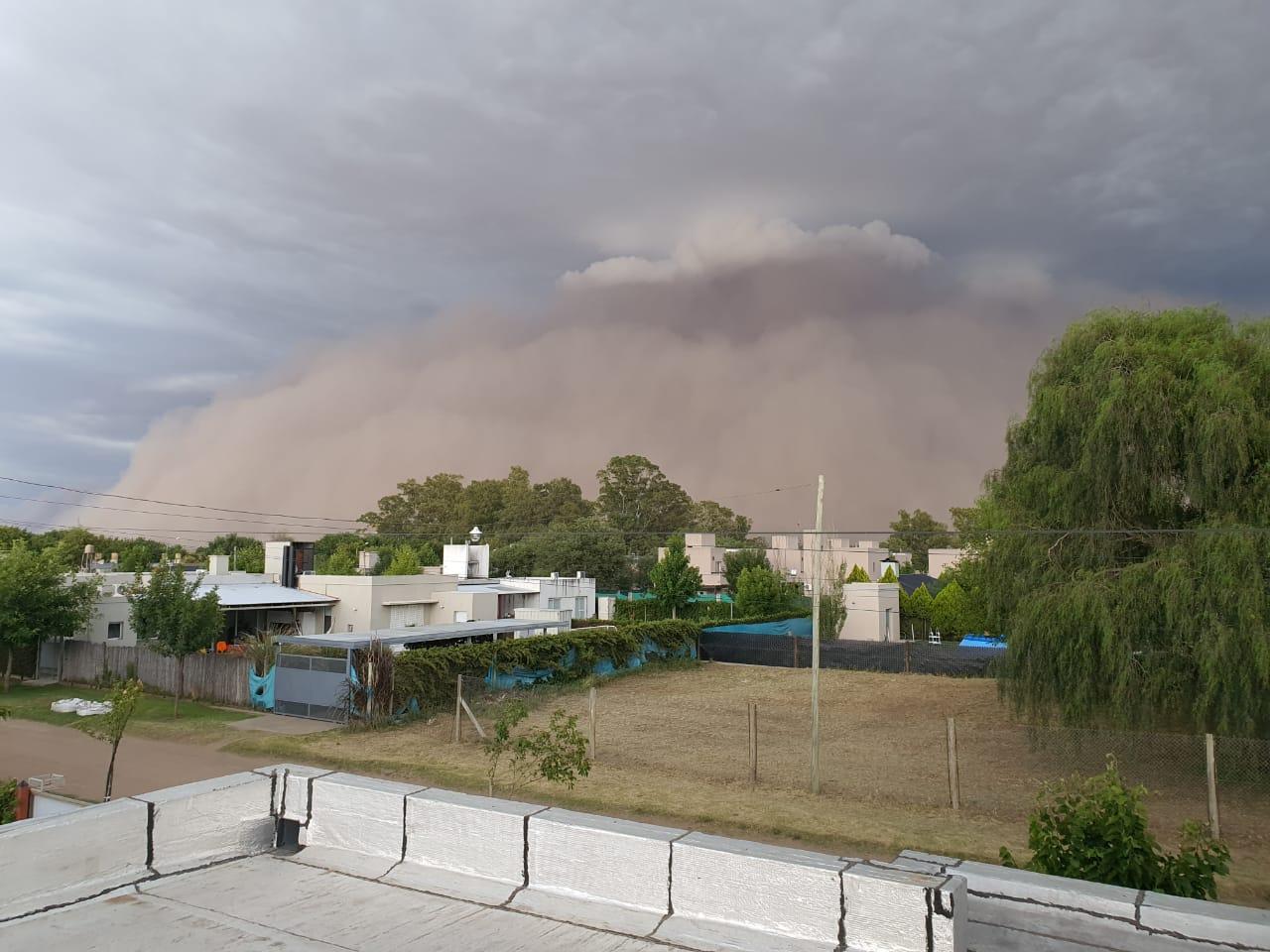 Ingeniero Agrónomo aseguró que el fenómeno que azotó La Pampa hace unos días «no se debe al maltrato de los suelos»