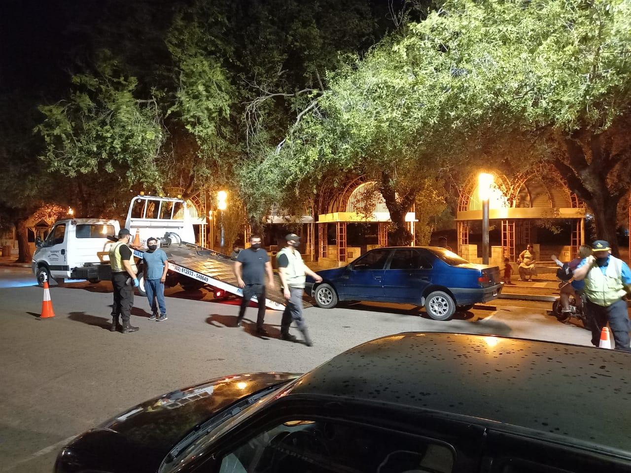 Controles semanales de tránsito en General Pico: Se labraron 523 infracciones y se retuvieron siete vehículos