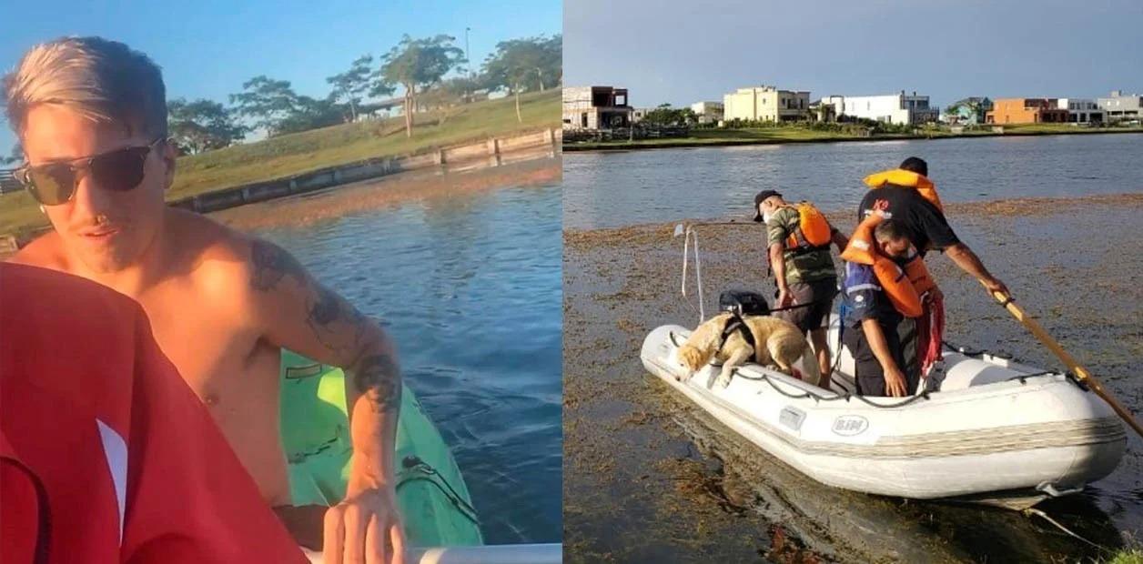Encontraron el cuerpo de Guido Orlando, el joven DJ que se ahogó en el lago artificial de country de Escobar