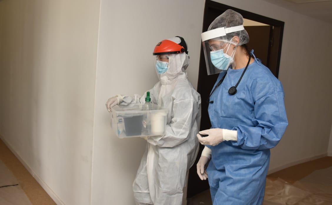 Familia piquense agradeció públicamente al personal del Hospital por la atención recibida cuando su hijo estuvo internado por COVID-19