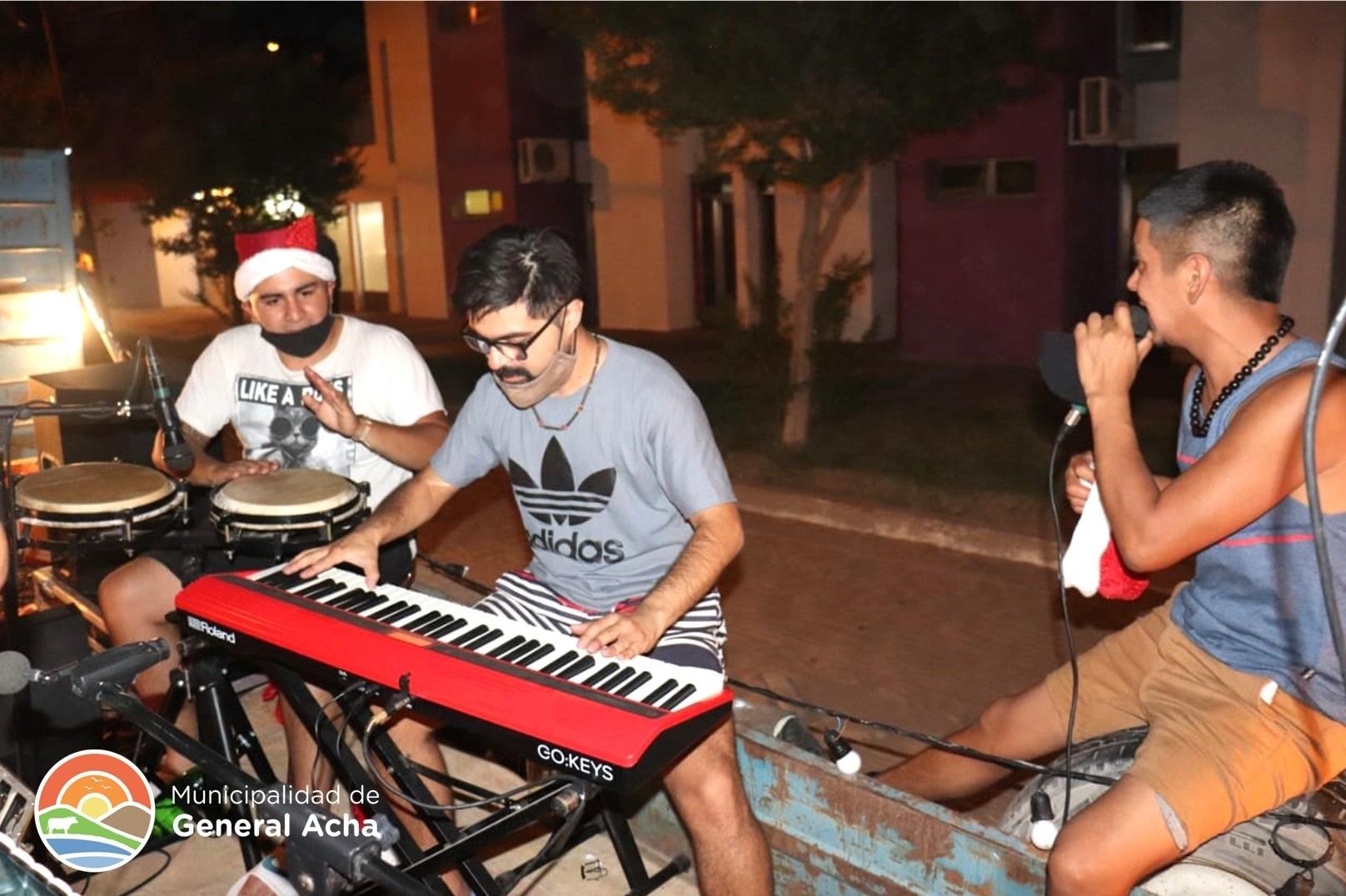 Empezaron las serenatas de verano en La Pampa
