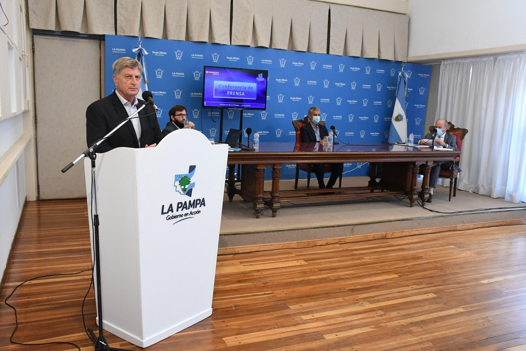 ES OFICIAL: Ziliotto anunció la apertura total de ingreso a La Pampa sin cuarentena