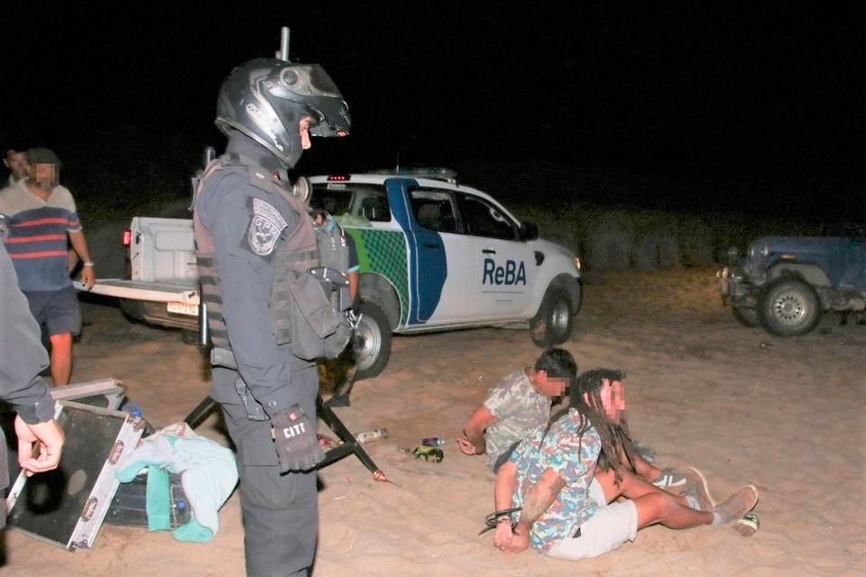 Desbarataron fiesta clandestina en la Costa donde había más de dos mil personas
