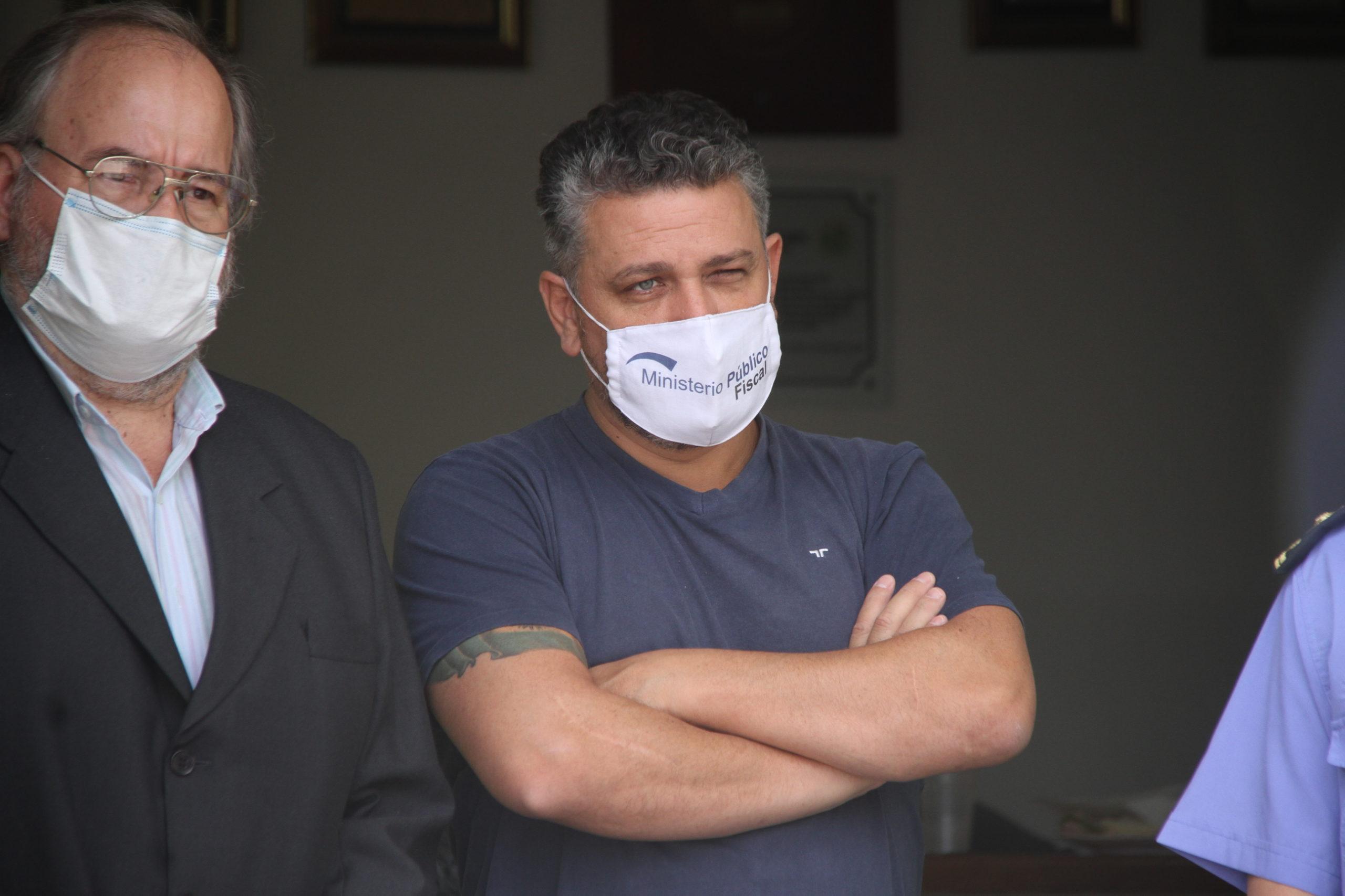 """""""Los servicios penitenciarios se han convertido en call centers de delincuentes"""" aseguró el fiscal general Armando Agüero"""