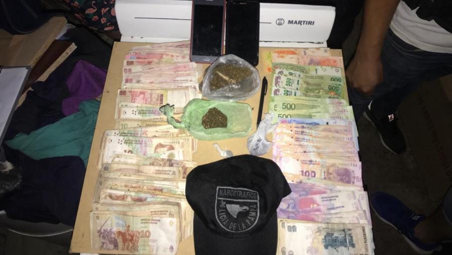 Desbarataron boca de expendio en Santa Rosa: Secuestraron drogas y hay un detenido