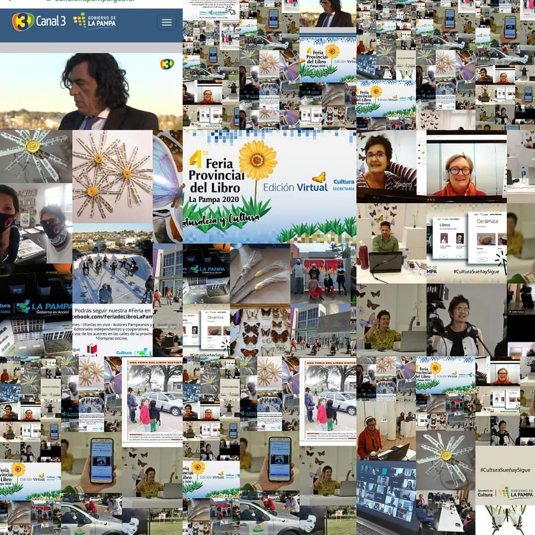 La Feria del Libro de La Pampa: lo que viene entre lo virtual y lo presencial