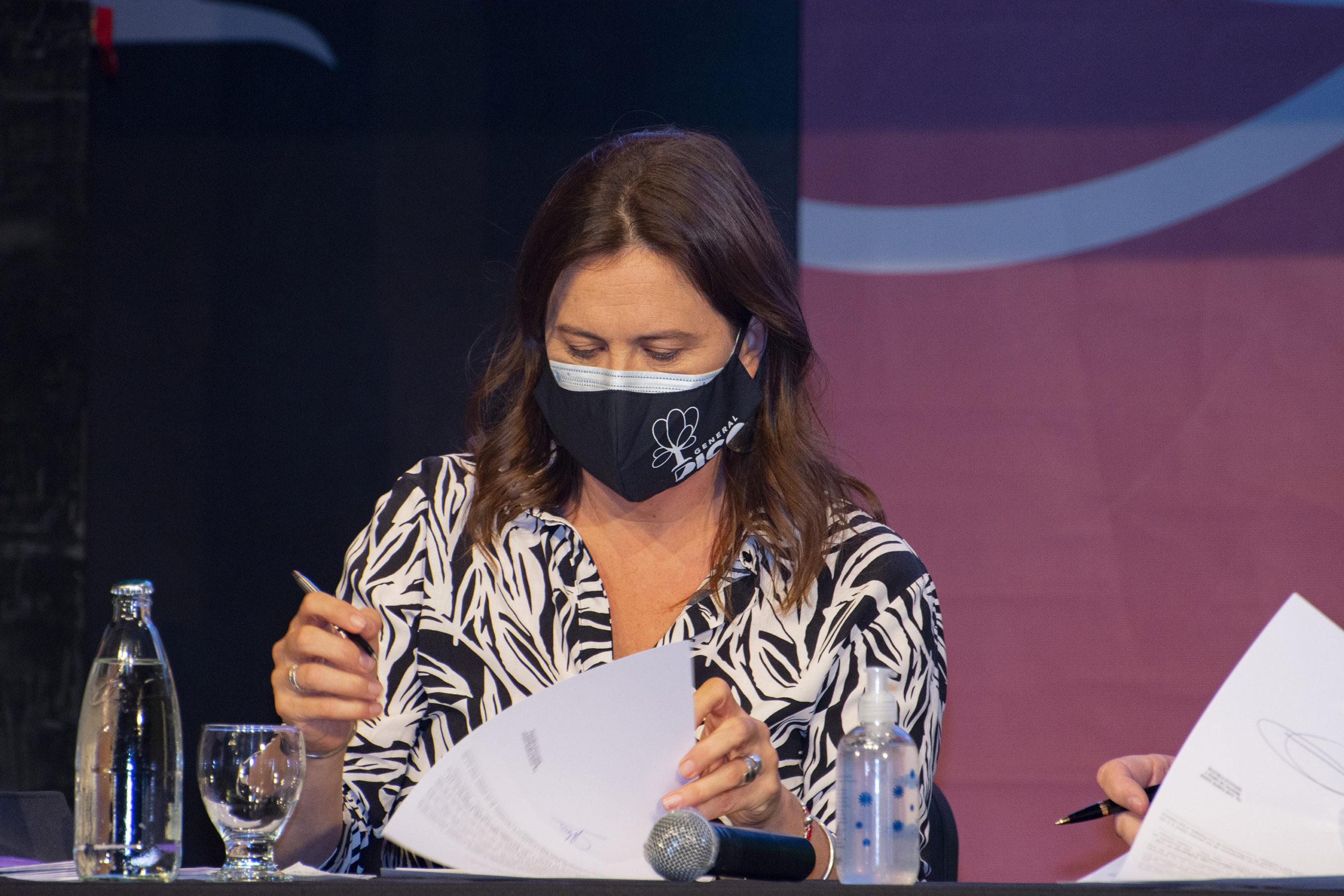 Fernanda Alonso viajará mañana a Santa Rosa para firmar un convenio de financiación de la Agenda 6360