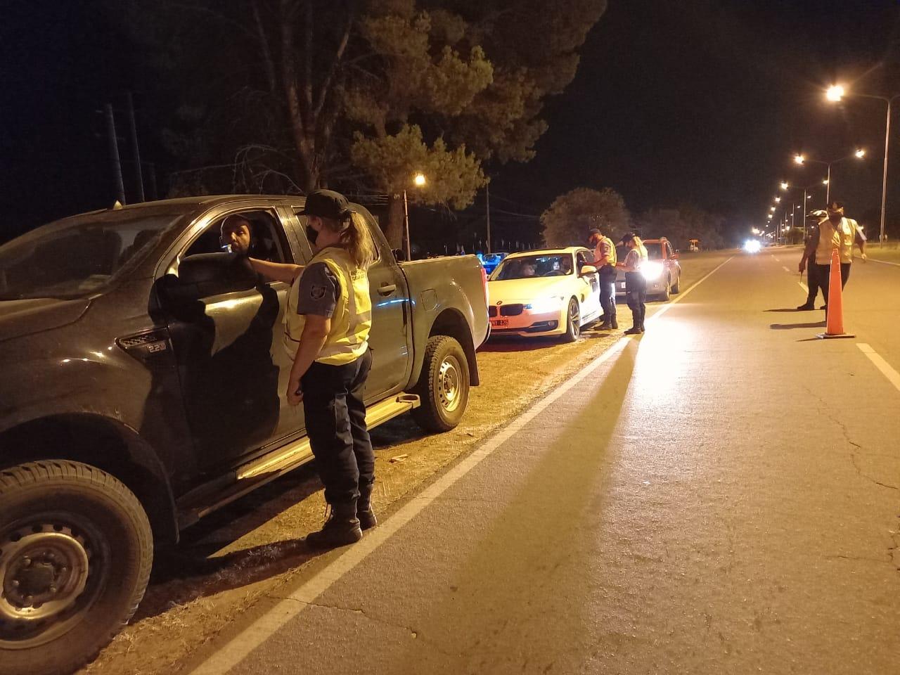 """Realizaron la segunda """"Alcoholemia Federal"""" en 15 localidades de La Pampa"""