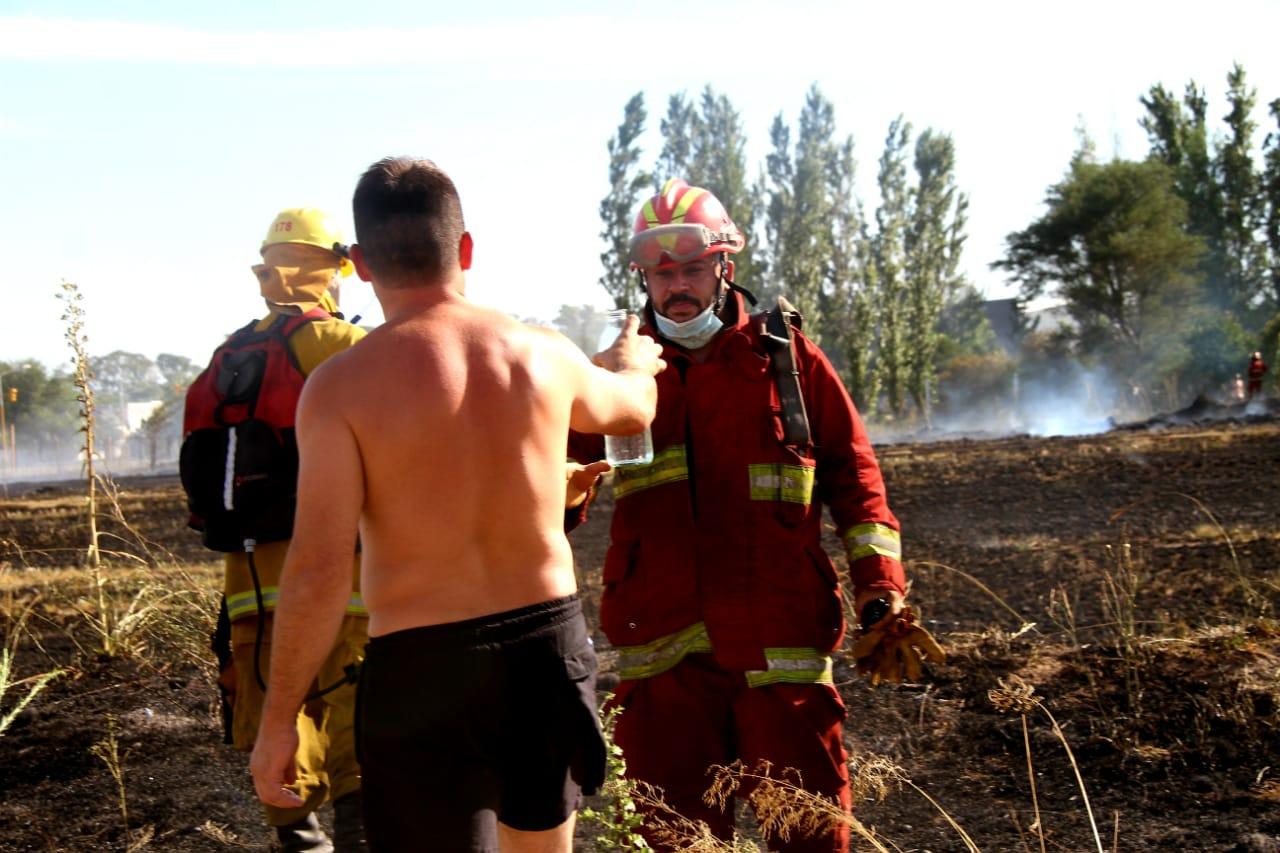 Bomberos de General Pico realizaron más de 500 intervenciones durante 2020: El 30% fueron incendios de pastizales