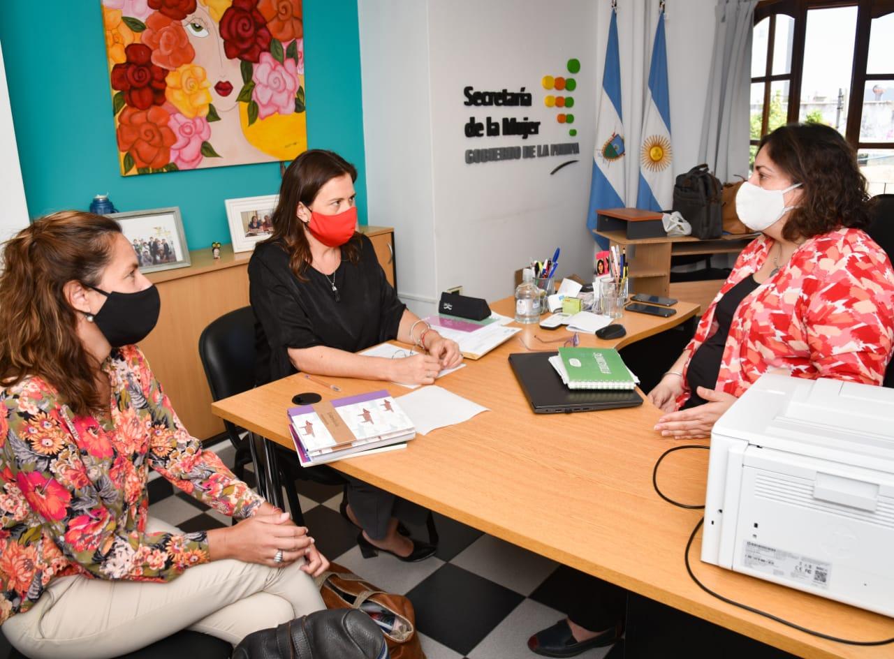 Alonso se reunió con Robledo para reflotar el proyecto para la refacción y ampliación del Hogar de Mujeres en General Pico