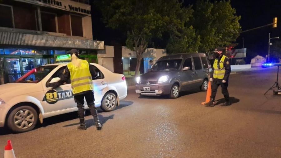 Controles en varios puntos de La Pampa: Se labraron 214 infracciones y se retuvieron 31 vehículos