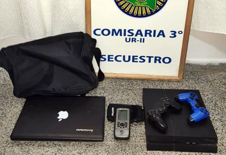 Personal de Comisaría Tercera recuperó elementos robados en una vivienda de Barrio Empleados de Comercio