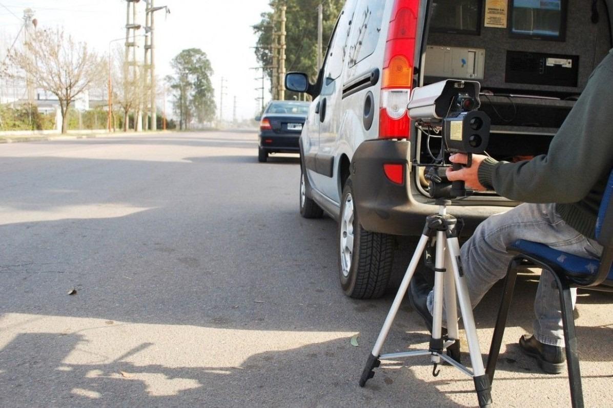 """Entre """"fotomultas"""" y operativos de tránsito se labraron más de 7 mil infracciones en General Pico durante el año pasado"""