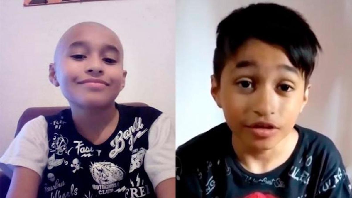 """Tiene 10 años, le ganó al cáncer y grabó un TikTok viral: """"No se rindan, sigan adelante"""""""