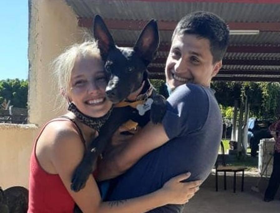 ¡Final feliz para Nala!: Luego de ocho días de intensa búsqueda, la perra perdida en La Pampa se reencontró con sus dueños
