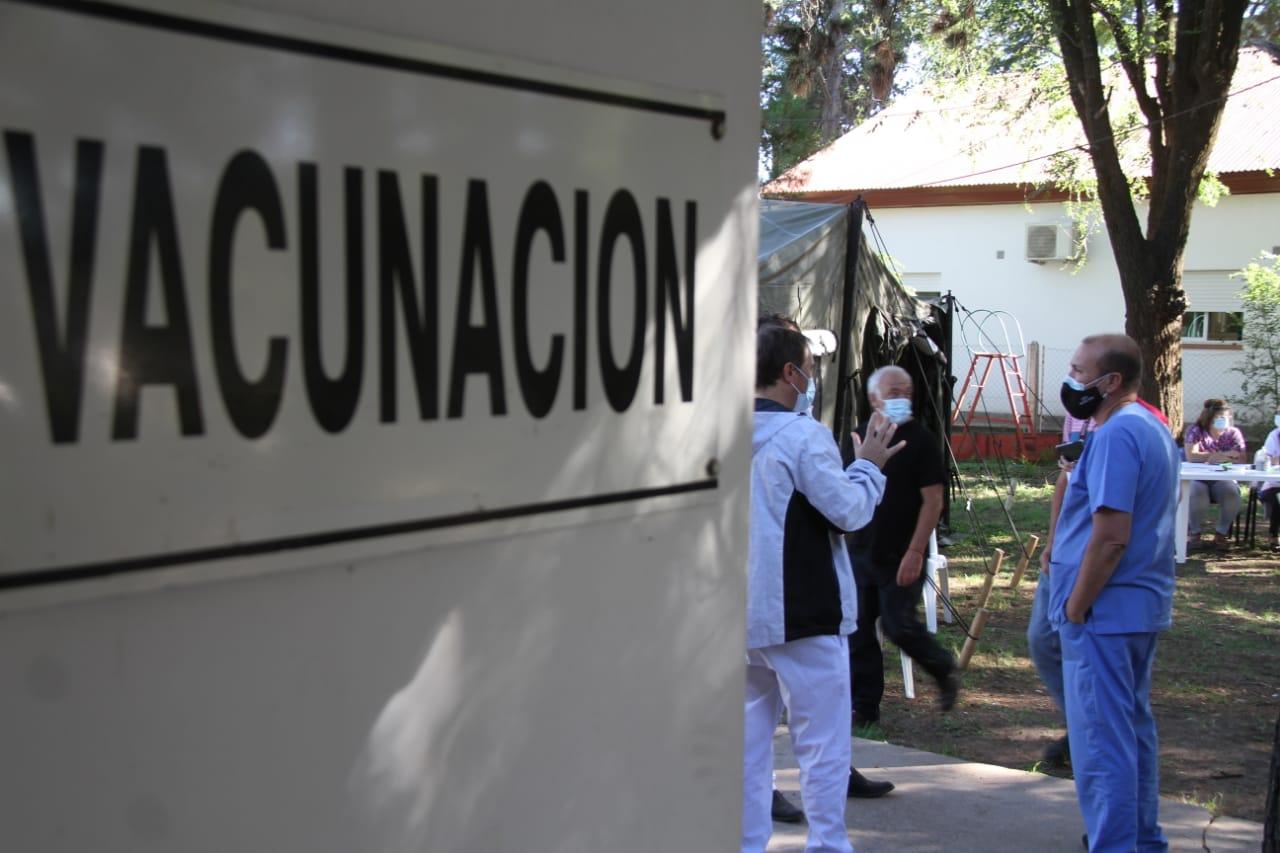 Por esta semana en General Pico, las vacunas del COVID-19 sólo en el Hospital Centeno