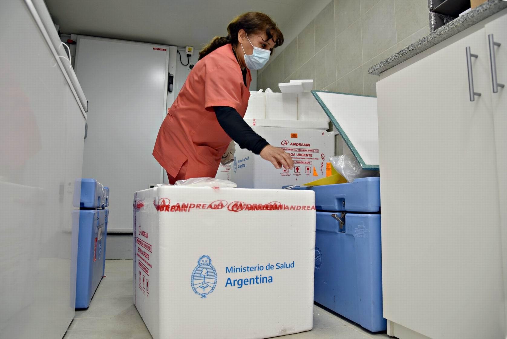 Llegaron hoy a La Pampa 4000 dosis de las vacunas fabricadas en India