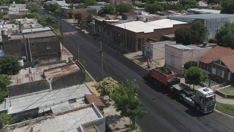 Cortes de calles entre hoy y el viernes por tareas de pavimentación en General Pico