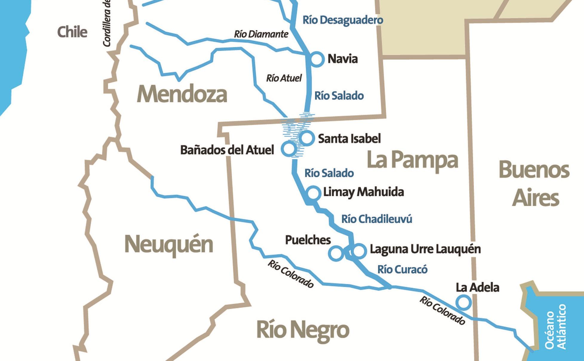 Impulsan campaña de monitoreo en el Desaguadero-Salado-Chadileuvú-Curacó