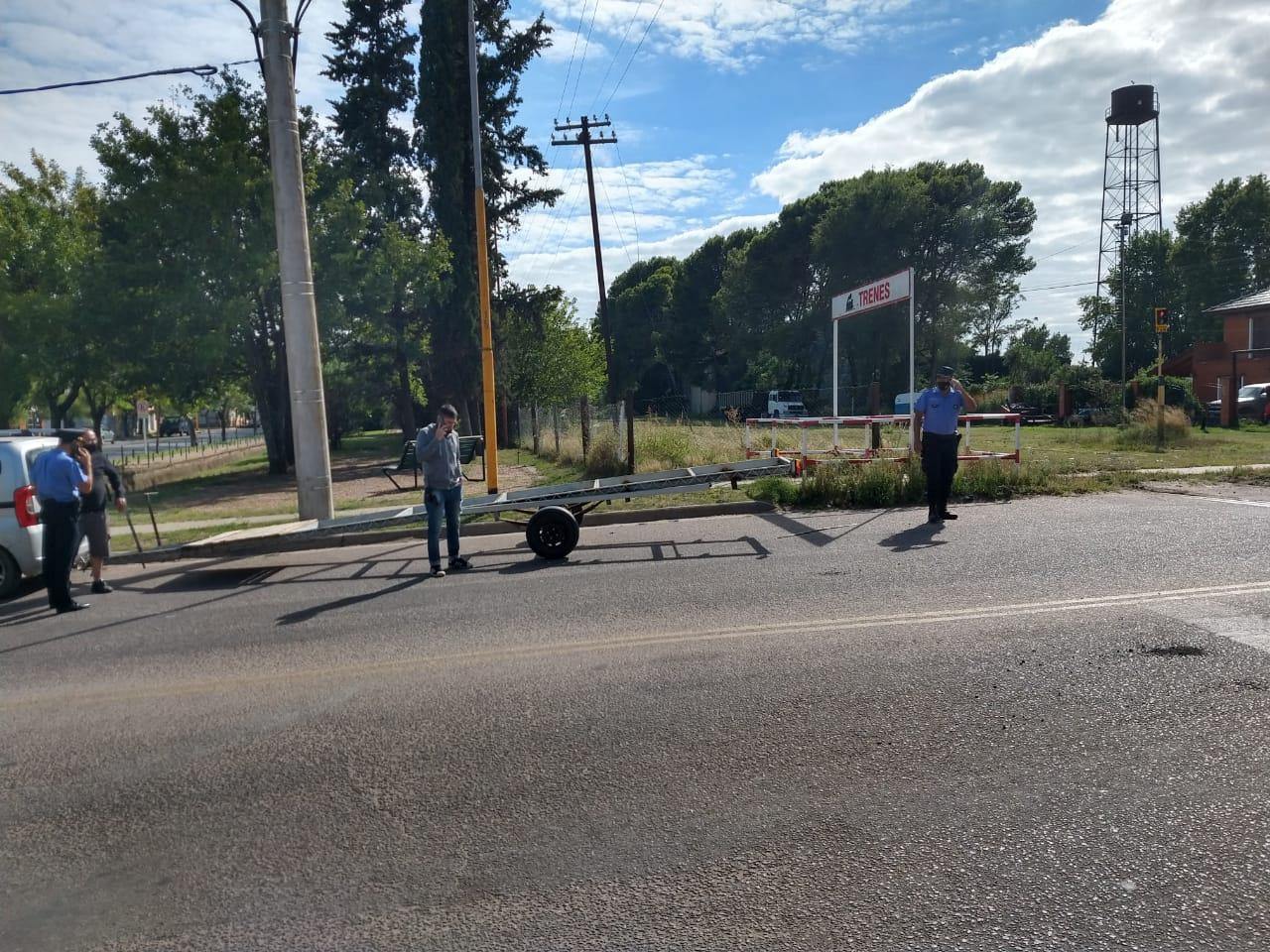 """""""No se trataba de un hurto"""", dijo el comisario Rinaldi en relación al carro secuestrado en la mañana de hoy"""