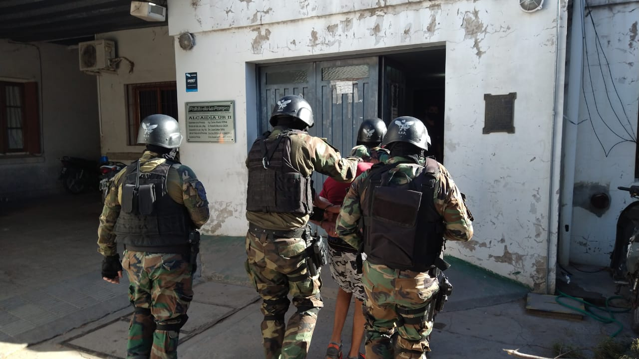 Luego de una intensa búsqueda, atraparon al tercer preso que se había escapado de Comisaría Segunda