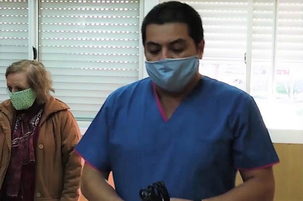 """Reasumió el director del Hospital de Realicó tras recuperarse de COVID-19: """"Tenemos esperanza con la vacuna, algo que se ve como un alivio"""""""