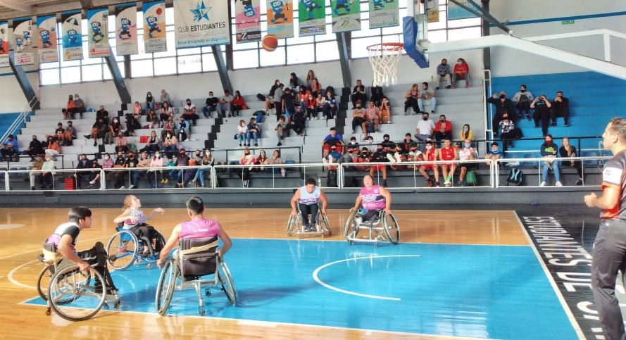 Excelente jornada y debut del básquet sobre silla de ruedas en La Pampa