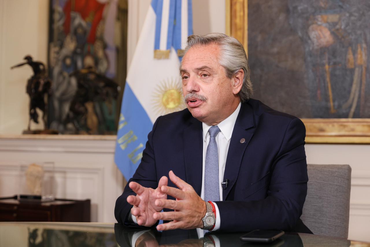 """Alberto Fernández participó del Foro de Financiamiento para el Desarrollo: """"Ninguna recuperación será posible si no se incluye a todos"""""""