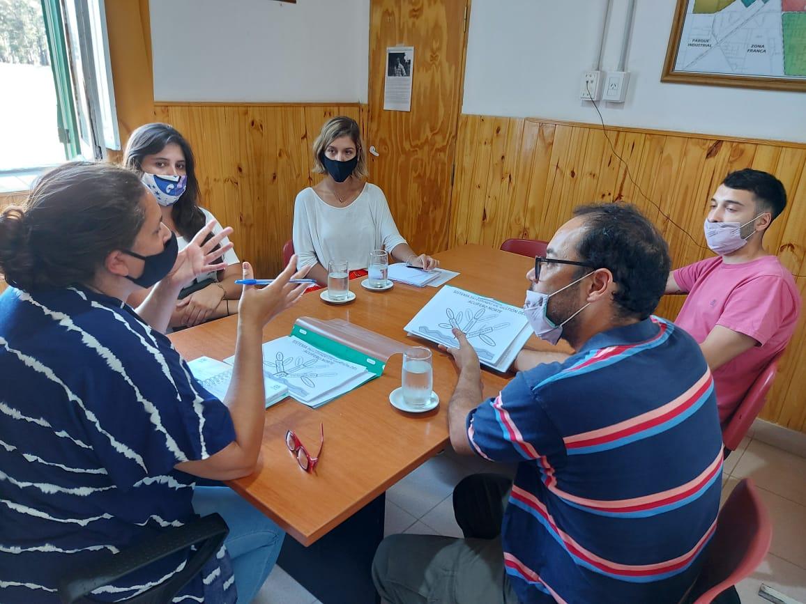 """Avanzan las reuniones por el Acuífero Norte: """"Continuamos planificando el trabajo conjunto"""""""