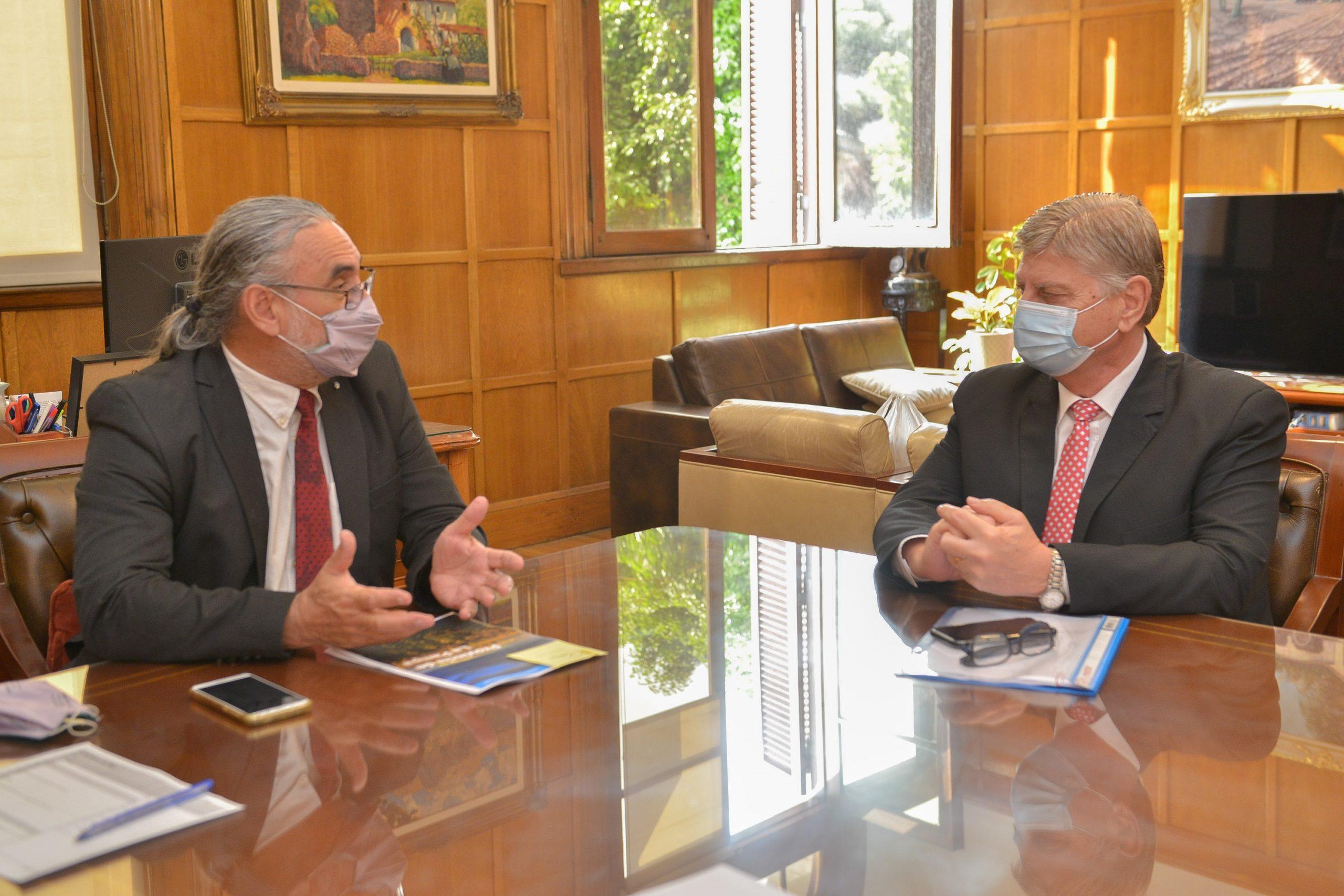 Ziliotto se reunió con el Ministro de Agricultura de Nación para favorecer la economía de la región a través de la producción ganadera