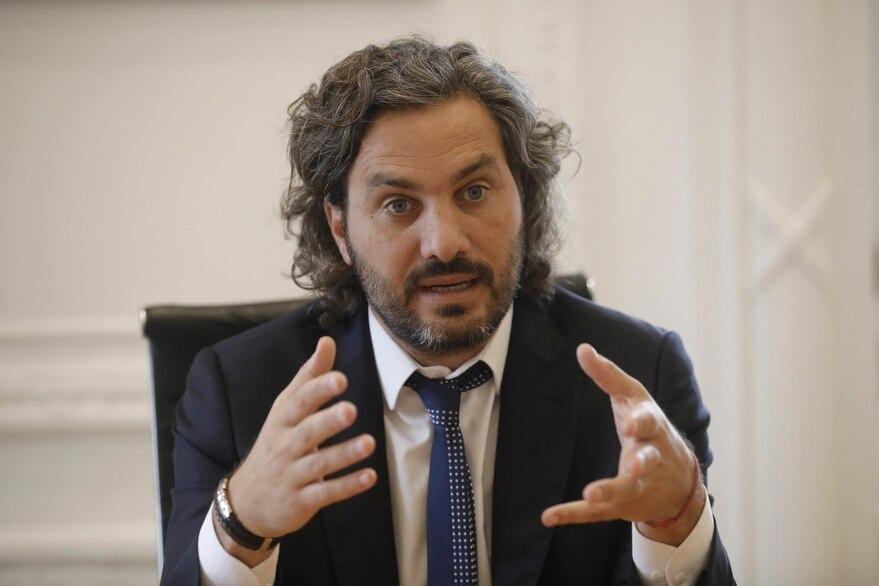 """Santiago Cafiero: """"Este es un Gobierno al que no lo define una frase, es un Gobierno al que lo definen los hechos"""""""