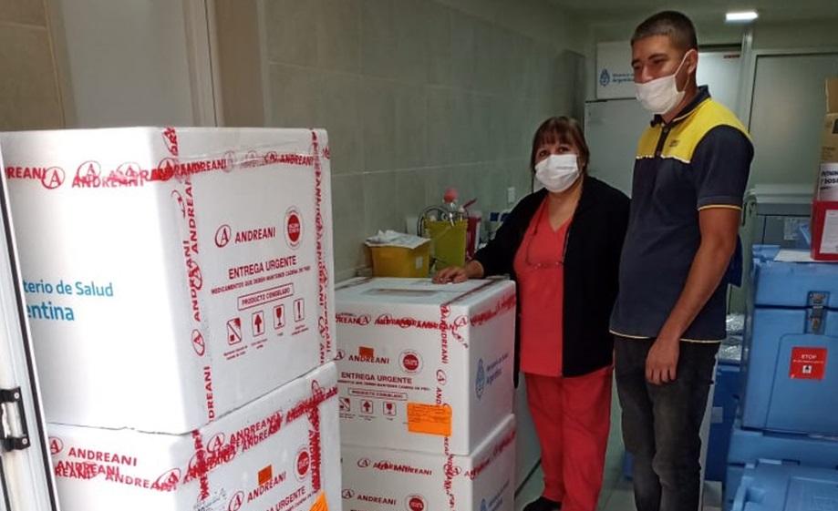 Hoy terminan de entregar 786.600 dosis de SINOPHARM a todas las provincias: Llegan otras 9.000 vacunas a La Pampa