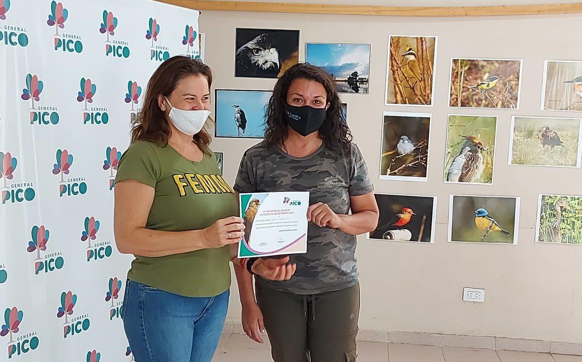 Gran jornada de avistaje en la laguna para festejar el décimo aniversario del Grupo de Avistadores de aves