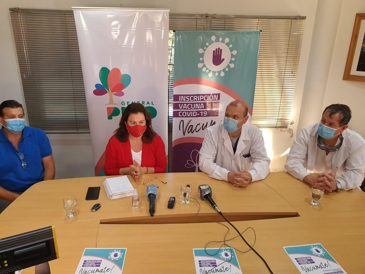 """La Intendenta anunció la apertura de tres centros de ayuda para inscribirse a la vacunación y las """"Búsquedas Activas"""" se instalarán en la estación del ferrocarril"""