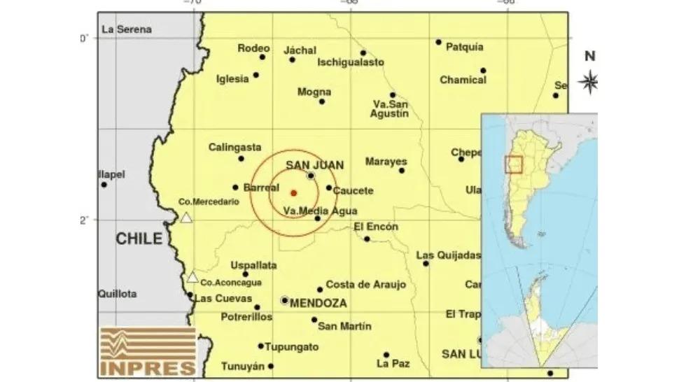 Se registraron sismos en San Juan y La Rioja