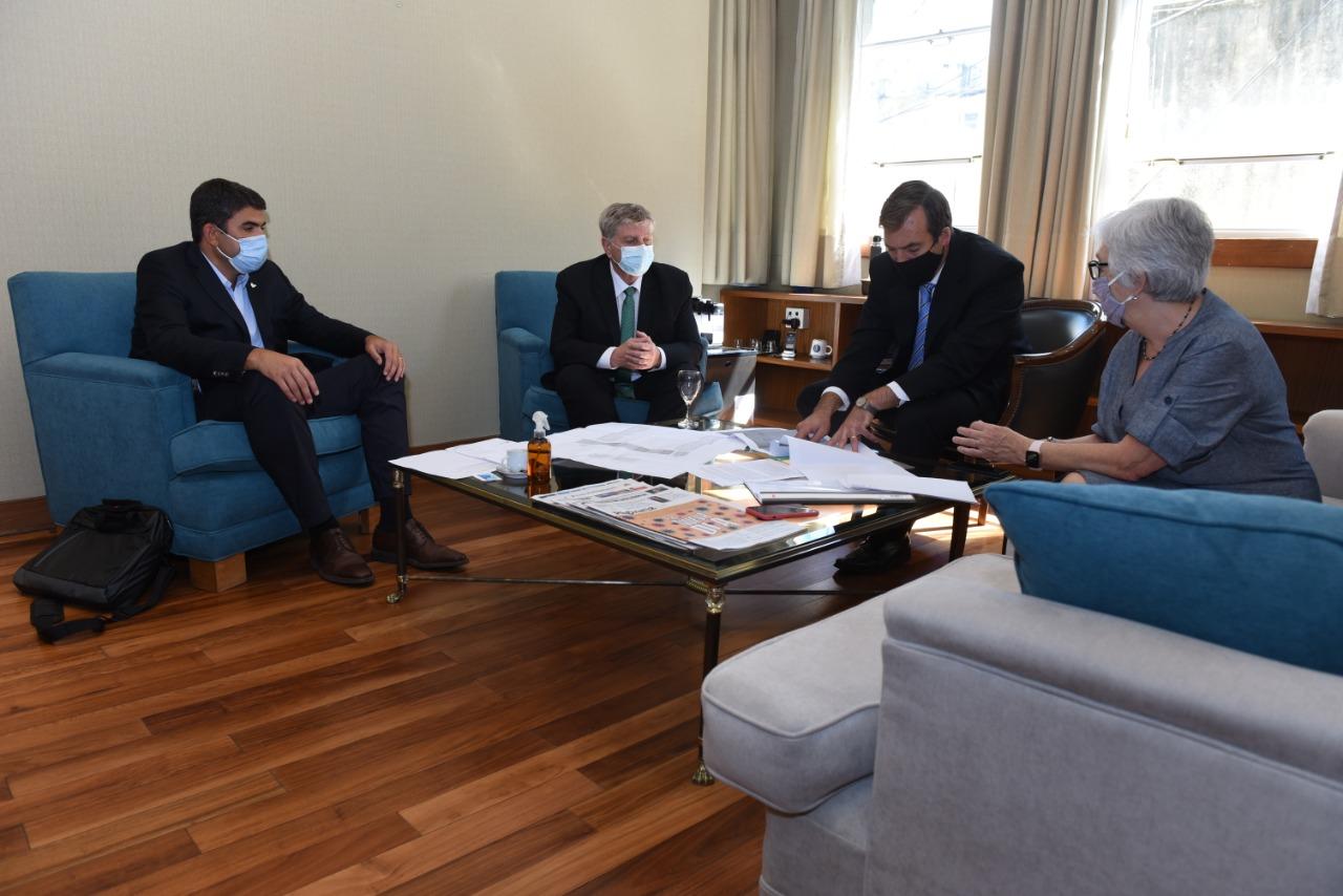 Ziliotto se reunió con el Ministro de Justicia de Nación y acordaron avanzar en el funcionamiento del Juzgado Federal de General Pico