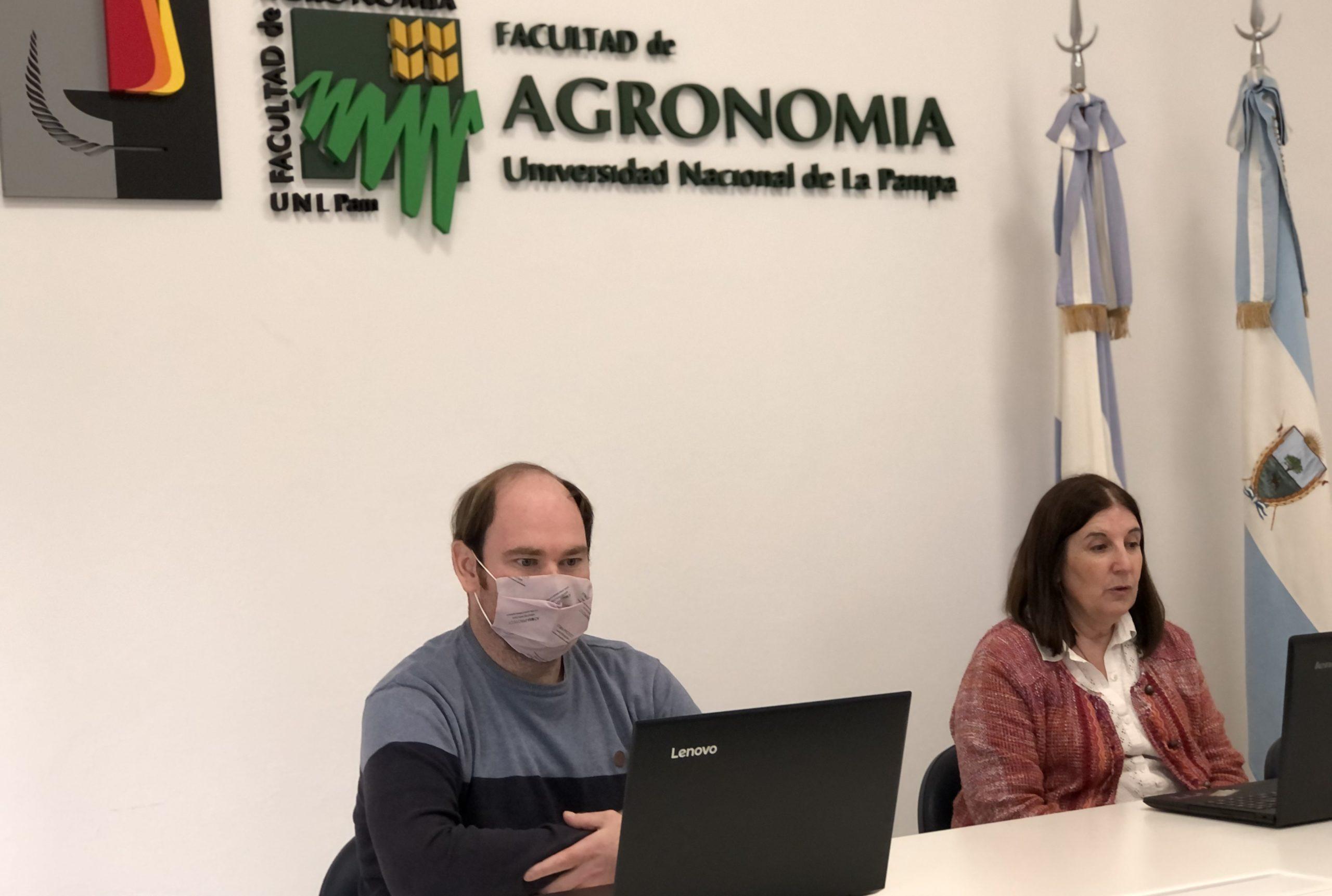 UNLPam: Presentaron la diplomatura internacional en prospectiva agrícola y alimentaria
