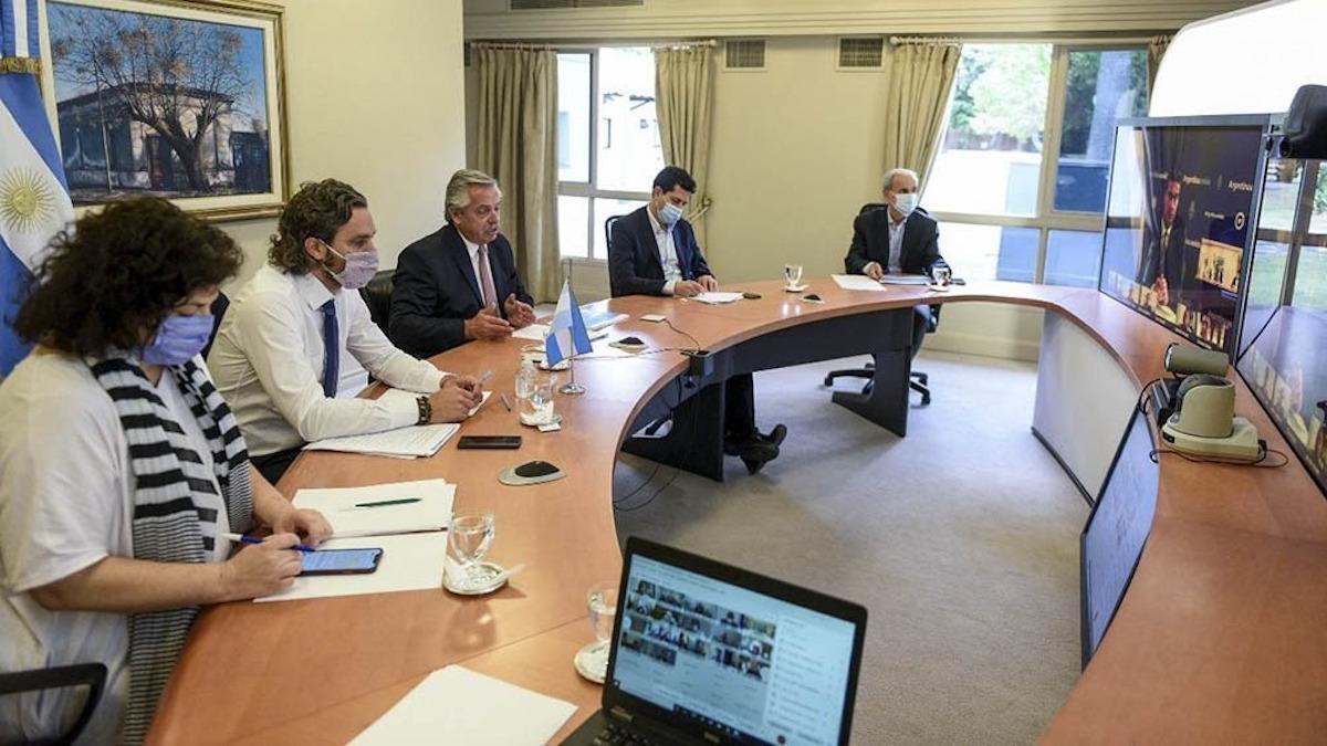 El Presidente finaliza hoy ronda de consulta con gobernadores, antes de adoptar nuevas medidas