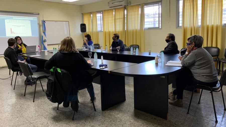 Educación se reunió con UTELPa para socializar nuevos datos sobre la presencialidad en las escuelas