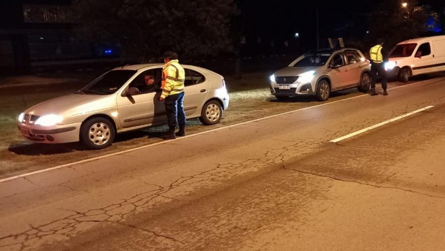 """Quinta """"Alcoholemia Federal"""" en La Pampa: Se controlaron 300 vehículos y hubo 5 alcoholemias positivas"""