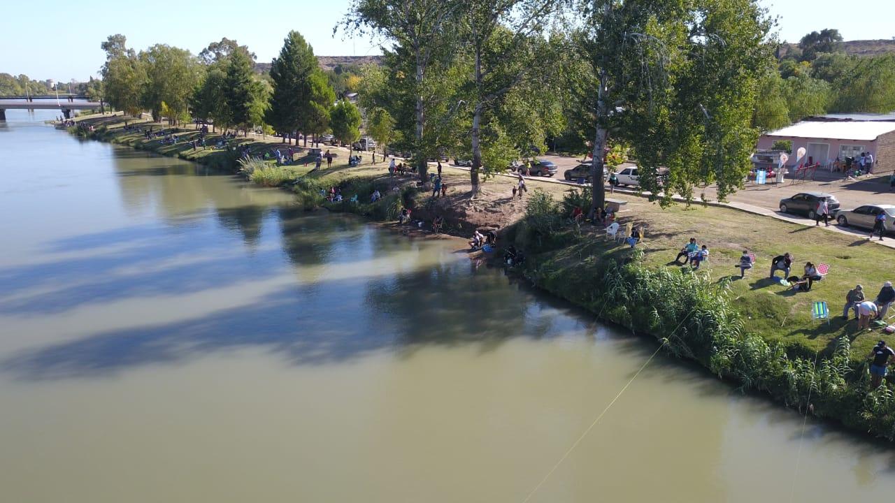 Se desarrolló exitoso encuentro de pesca infantil en La Adela