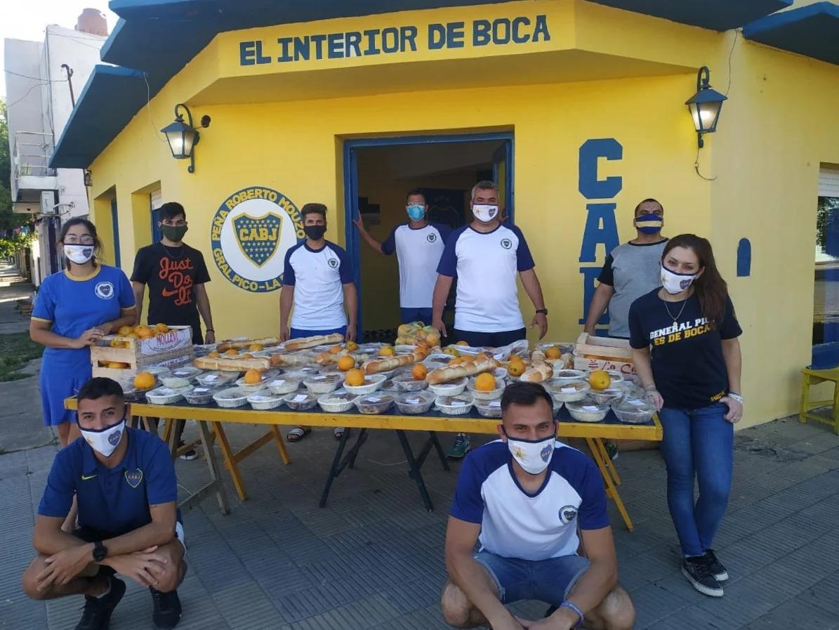"""La peña """"Roberto Mouzo"""" organiza olla solidaria a beneficio del comedor """"Caritas Felices"""""""