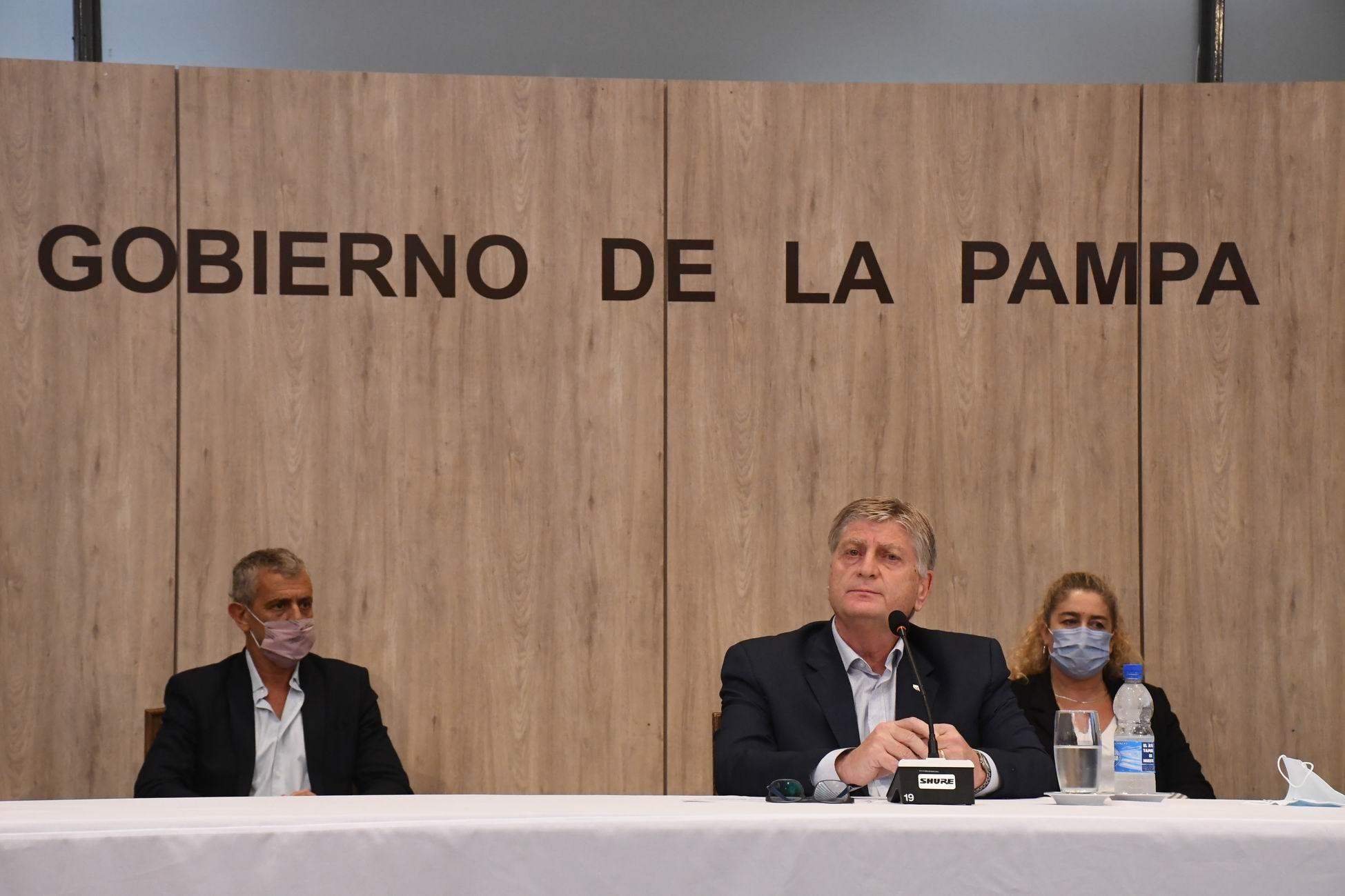"""Sergio Ziliotto: """"En La Pampa no se modificarán horarios ni actividades y no se incorporarán nuevas restricciones"""""""