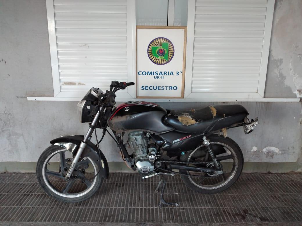 Un menor de edad reincidente quedó nuevamente a disposición de la justicia por el robo de una motocicleta
