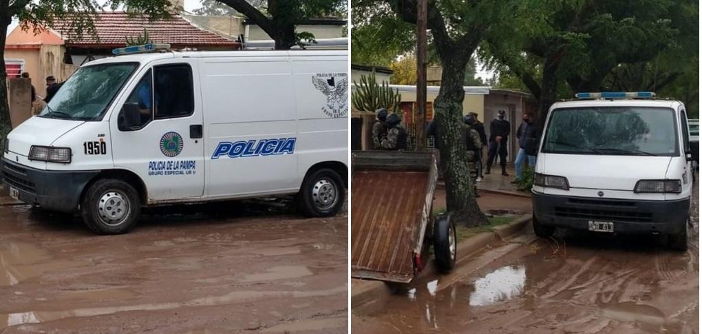 Intentaron robar una moto, agredieron a un vecino que los descubrió y volvieron para robarle: Allanamiento y un demorado en barrio Don Bosco