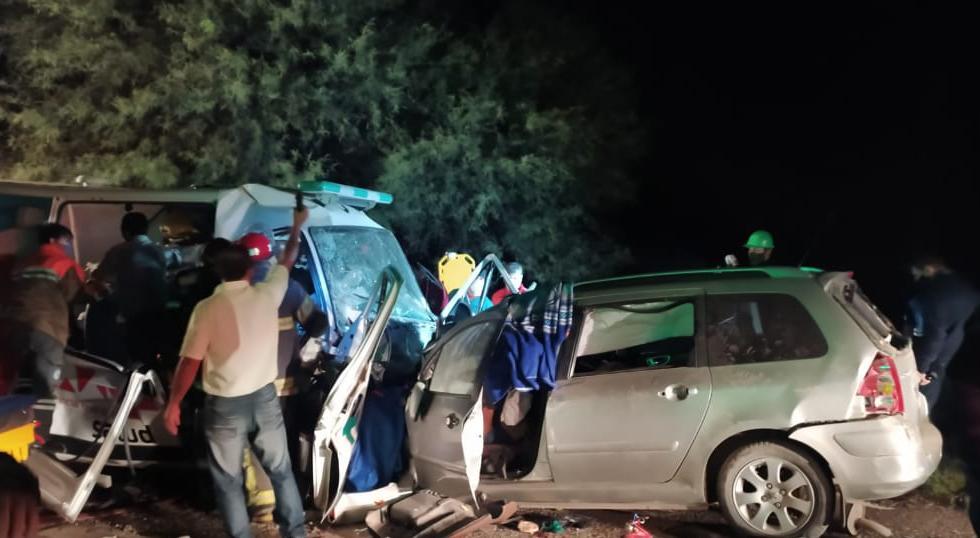 La Rioja: murieron 9 personas en un choque entre un auto y una ambulancia; tres víctimas eran menores de edad