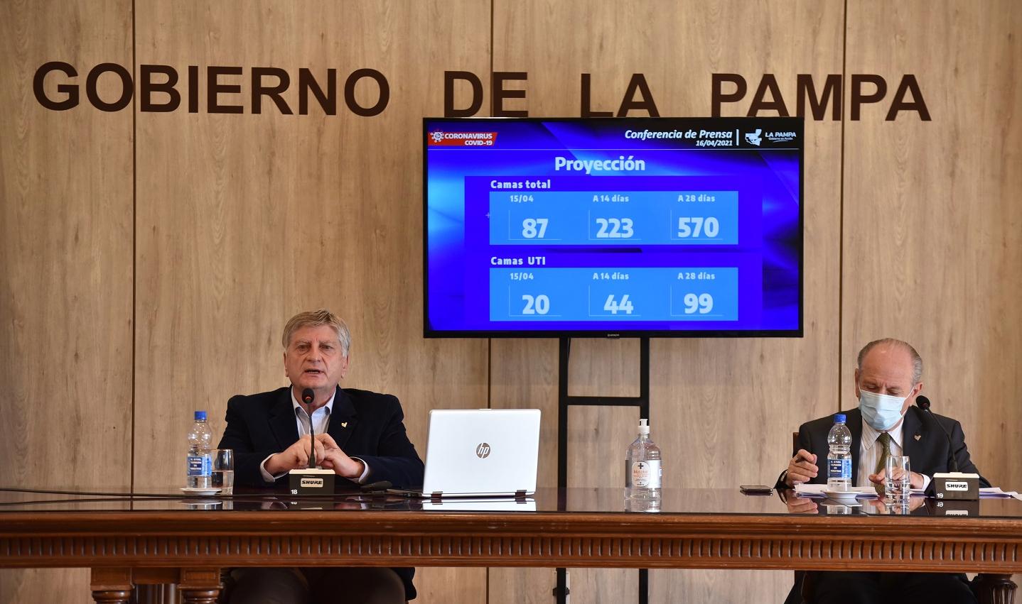 La Pampa: Prorrogan las restricciones hasta el 21 de mayo