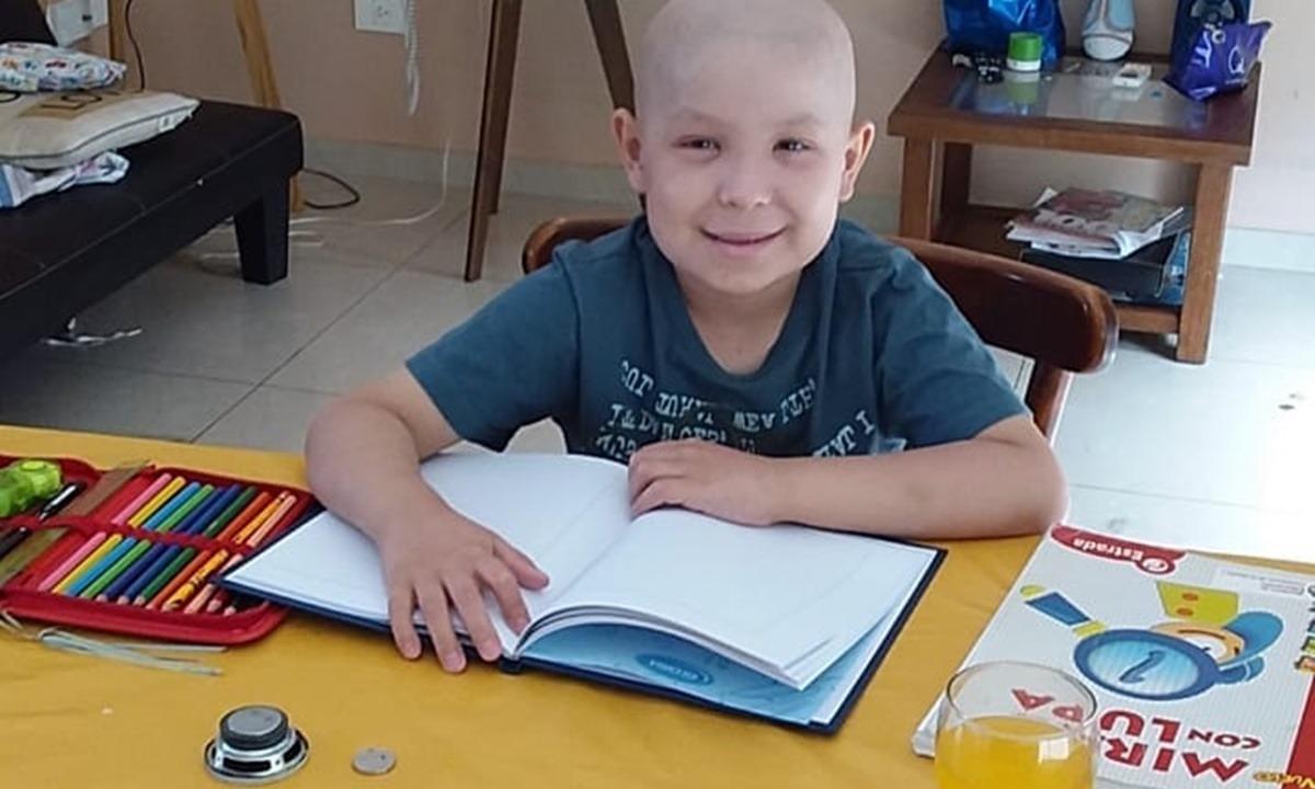 Dolor por la muerte de Tiziano, el nene bahiense que padecía leucemia