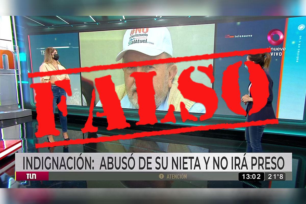 """¡INSÓLITO!: Un canal de TV """"involucró"""" a Verna en el caso de abuso sexual sucedido en Victorica y el ex Gobernador denunció una """"operación de prensa"""""""