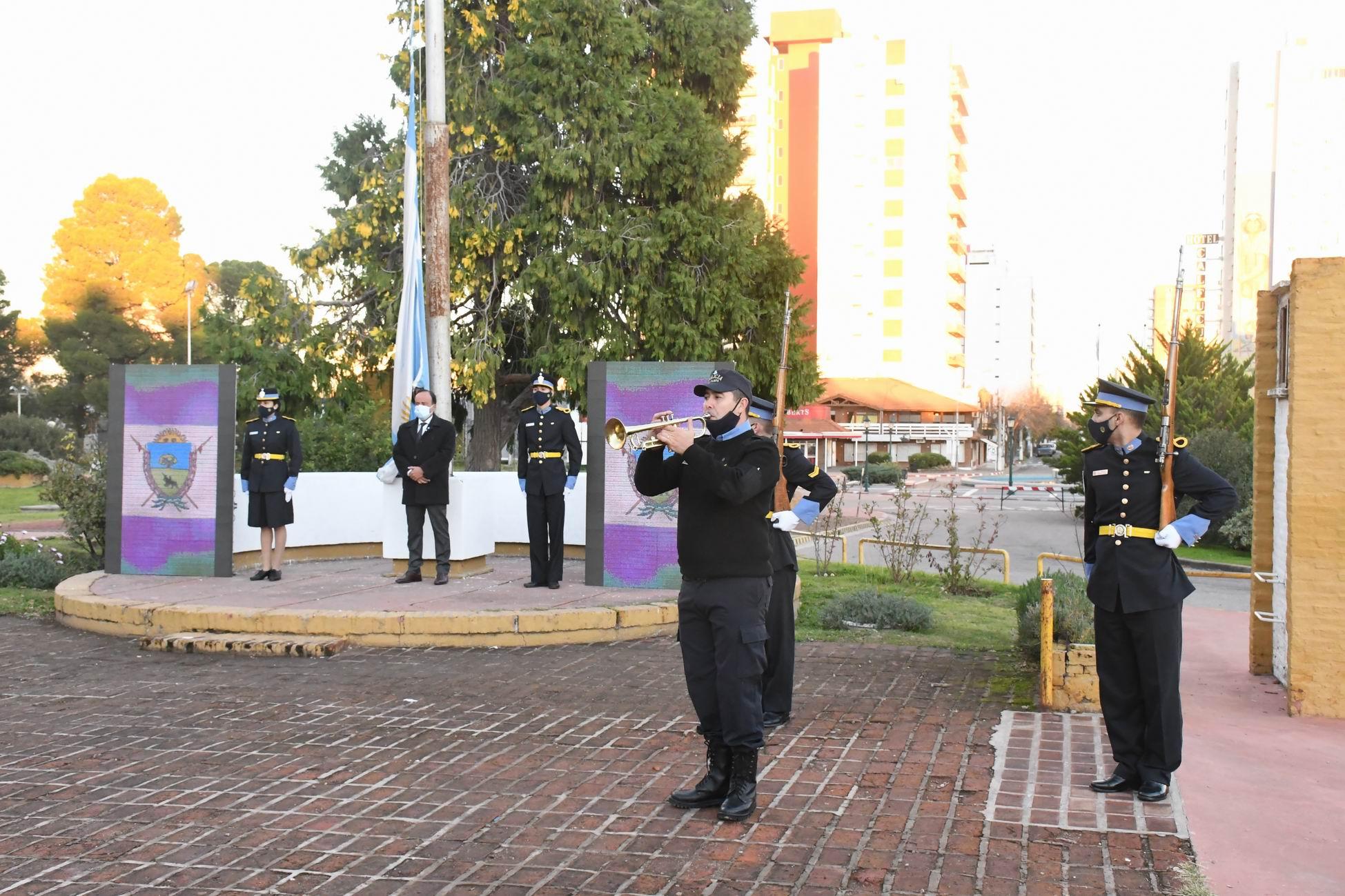 Escueto acto oficial por el 25 de Mayo en La Pampa